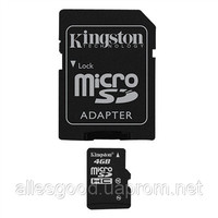 Micro SDHC card 8Gb Kingston class 10 with adapter