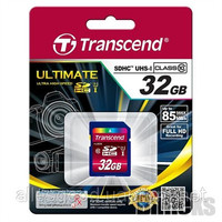 SD card 32Gb Transcend SDHC class 10 (TS32GSDHC10)